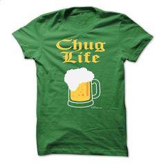 BEER LOVERS CHUG LIFE - #sweaters #music t shirts. SIMILAR ITEMS => https://www.sunfrog.com/Funny/BEER-LOVERS-CHUG-LIFE-Green-7055192-Guys.html?60505