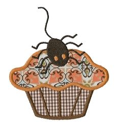 Spooky Applique Cupcakes - 3 Sizes! | Halloween | Machine Embroidery Designs | SWAKembroidery.com Applique for Kids
