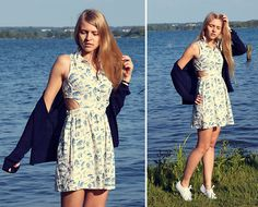 Primark Dress, Exani Sneakers