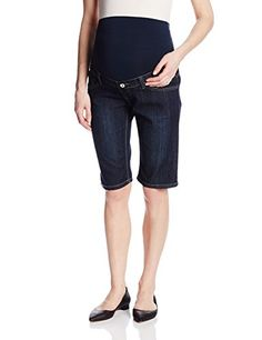 Lilac Maternity Women's Maternity Bermuda Shorts Over-belly tummy panel Internal adjustable waistband Stretch-denim 12 inch Can be worn before, during and after pregnancy Maternity Shorts, Maternity Dresses, Pregnancy Outfits, Pregnancy Tips, Classic Looks, Stretch Denim, Lilac, Fashion Brands, Bermuda Shorts