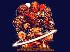 168th Single キン肉マン[プラネットマン] Tシャツ - MARS16 on the web (T-shirts only labo brand MARS SIXTEEN)