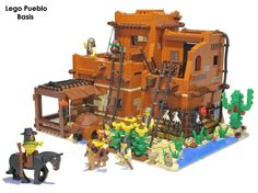 LEGO Ideas - LEGO Pueblo -- This would be such a cool set.  Please support it!  (follow the link below)