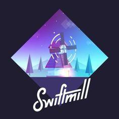 New Sound Design and final Logo Animation for swiftmill - Sound Design By @dennisjenne  #logo #type #animation #dribbble #behance #text #design #art #flatdesign #vector #vectorart #windmill #gamedev #mobilegames #illustration #sounddesign #onboarding