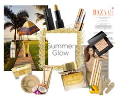 Be The Sun by rachna-priyanka on Polyvore featuring beauty, Bobbi Brown Cosmetics, Guerlain, Peter Thomas Roth, Elizabeth Arden, Eugenia Kim, Havaianas, West Elm, Burberry and Yves Saint Laurent