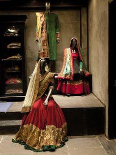 the Giorgio Armani of Indian fashion - Sabyasachi Mukherjee.