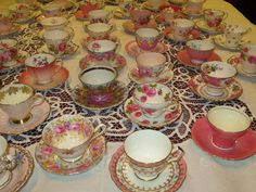 More Favourite Teacups