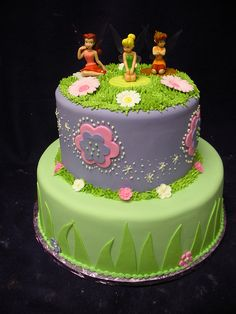 tinkerbell cakes | Tinkerbell cake | Flickr - Photo Sharing!