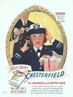 Chesterfield Cigarettes First Choice 1943 Ad Picture