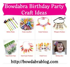 Party Favor Crafts- Fun ideas featured on the Saturday Showcase