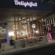 | If you didn't get the chance to visit Salone del Mobile in Milan, take a look at some highlights of the interior design trade show in Hall 13. Hope to see you next year! | www.delightfull.eu/blog #delightfull #uniquelamps #interiordesignprojects #modernhomedecor #homedesignideas #interiordesignshow #designevents