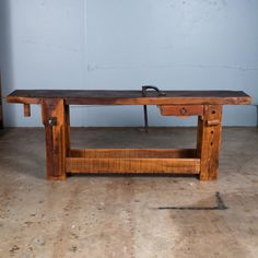 1906 French Bench is From the Future – Lost Art Press Workbench Table, Woodworking Workbench, French Bench, Carpenter Work, Time Continuum, Tool Bench, Beginner Woodworking Projects, Mortise And Tenon, French Antiques