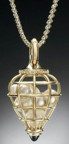 Pearl And Gold Pendant.......