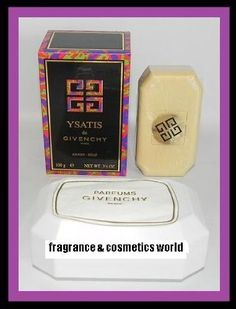 YSATIS DE GIVENCHY PERFUMED SAVON / SOAP FOR WOMEN 3.5 OZ / 100 g WITH DISH NEW IN BOX by Givenchy. $44.99. PERFUMED SAVON / SOAP WITH DISH. 3 1/2 OZ / 100 g. EXTREMELY HARD TO FIND. NEW IN BOX. YSATIS DE GIVENCHY PERFUMED SAVON / SOAP FOR WOMEN 3.5 OZ / 100 g WITH DISH NEW IN BOX