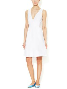CYNTHIA ROWLEY - Cotton A-Line Dress