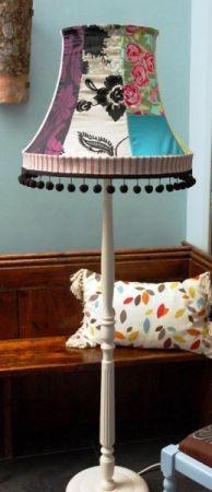 Standard lamp.... Love the pom poms