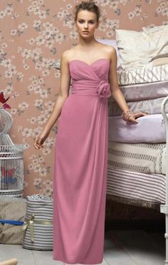 Bridesmaid dress available in other colours