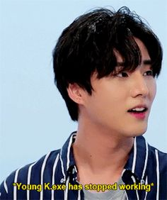 "youngestk: """"young k. Day 6 Kpop, Mr Kang, Gif Kpop, Wattpad, Young K Day6, Bad Songs, Kim Wonpil, K Pop Music, Cute Memes"