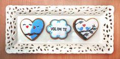 Love cookies #love #cookies #heart #birds #tree