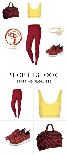"""""""Amity Gym"""" by hiltzerin-1 on Polyvore featuring NIKE, adidas and Jenni Chan"""