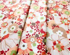 Moda Fabrics Chirp Chirp Blooms Sunset 16083-11
