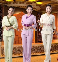 Fashion style spa uniform $5~$20