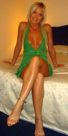 Milf crossing tan legs nude