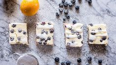 Prepared pastries plus a thick layer of cheesecake and fresh berry topping make for one decadent dessert.