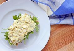 Healthy Egg Salad with Greek Yogurt and Capers