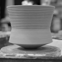 A new Series 3 Vessel. Thrown and turned inside and out. When bone dry this…