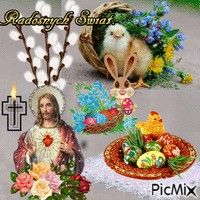 PicMix z [p. 219 o Happy Easter Pictures Inspiration, Ostern Wallpaper, Happy Easter Quotes, Happy Birthday Flower, Diy Ostern, Easter Celebration, Vintage Easter, Family Holiday, All Things Christmas