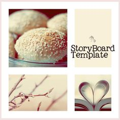 Photoshop Templates And Storyboard On