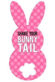 Printable Bunny Tail Tags - My Sister's Suitcase - Packed with Creativity