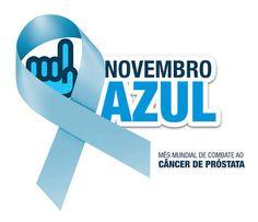 Novembro Azul alerta aos homens sobre o perigo do cancer de próstata