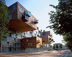 Viviendas Sociales en Amsterdam - MVRDV