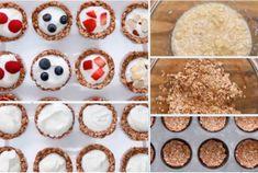 Les tartelettes gourmandes mais très saines aux fruits et au yaourt