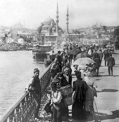Galata Köprüsü 1900 başları