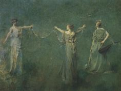 Image result for thomas wilmer dewing the garland