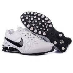 timeless design 52cbe 0e549 Shox Nike Shox Deliver White Black Shoes  Nike Shox Deliver - Nike Shox  Deliver White Black Shoes mainly using white leather on surface.