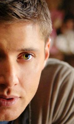 Yes, Jensen Ackles really DOES have the eyes of a Disney princess.