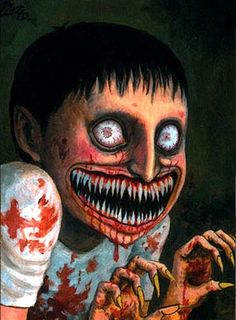 'Voices in the Dark' , made by: Junji Ito - illustration Horror Pictures, Creepy Pictures, Bizarre Art, Creepy Art, Arte Horror, Horror Art, Japanese Horror, Junji Ito, Horror Comics