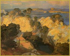 Franz Bischoff  1864-1929  Carmel Coast - California Art Club