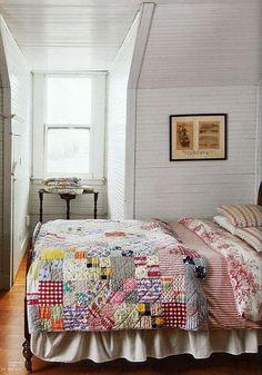 old farmhouse quilt