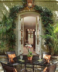 Lovely garden inspiration...