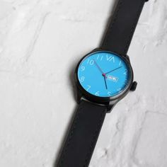 Blue mens watch 25th watches