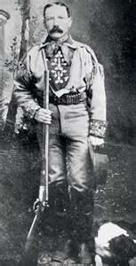 "Chris Madsen 1851-1944  US Deputy Marshall aka one of  "" The Three Guardsmen""."