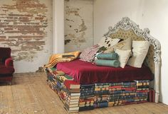 We can build ALL your furniture out of books!