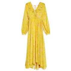 Topshop Floral Maxi Dress