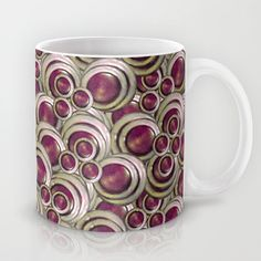 #Abstract #Modern #Pattern #artistic #print #Mug by Danflcreativo - #home #decoration