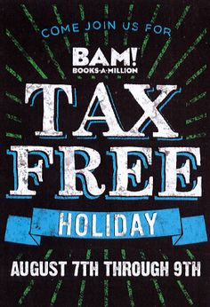 #OhioTaxFreeWeekend is here!! See BAM! to take advantage of their exclusive sales.