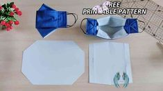 DIY 3D Face Mask With Filter Pocket | Free Printable Pattern DIY 3D Face Mask With Filter Pocket | Free Printable Pattern - YouTube<br> Easy Face Masks, Diy Face Mask, Diy Sewing Projects, Sewing Hacks, Sewing Tips, Sewing Ideas, Sewing Patterns Free, Free Pattern, Diy 3d